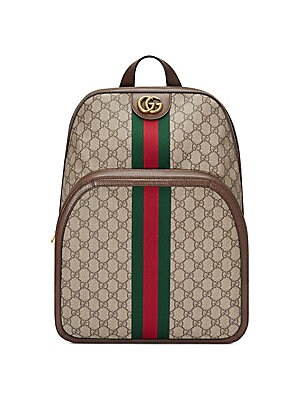 9617a7db21f Gucci - Medium Ophidia GG Backpack - saks.com