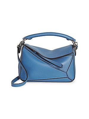 822fc769d803 Loewe - Puzzle Medium Leather Shoulder Bag - saks.com