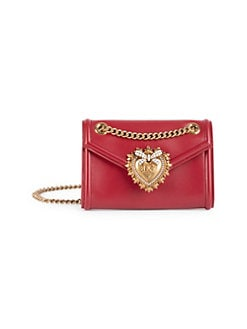 QUICK VIEW. Dolce   Gabbana. Mini Devotion Leather Crossbody Bag 43f9d82c01653