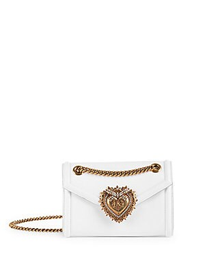 Dolce   Gabbana - Mini Devotion Leather Crossbody Bag b7f4d7f7ecae7