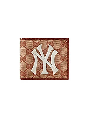 46e8b489e80229 Gucci - Original GG Canvas Wallet with New York Yankees Patch ...