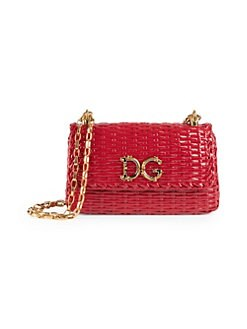 63c8869f491d Product image. QUICK VIEW. Dolce   Gabbana. Small Wicker Shoulder Bag