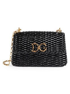 2cd10369c0 Product image. QUICK VIEW. Dolce   Gabbana. Large Wicker Shoulder Bag