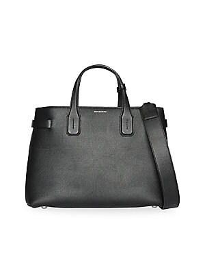 Burberry - Medium Leather Belt Shoulder Bag - saks.com 2338854680b21