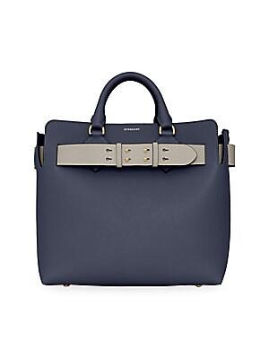 8cb05dfdb7bb Burberry - Banner Medium Leather Satchel - saks.com