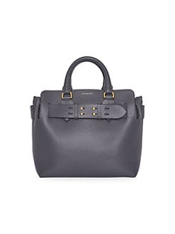 5febf72998 QUICK VIEW. Burberry. Small Leather Belt Tote