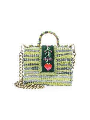 KOORELOO Divine Petite Crossbody Bag in Green
