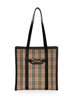 db8f23c805c4 Product image. QUICK VIEW. Burberry. Medium Link Tartan Zip Tote.  1250.00  · Small Leather Bucket Bag TAN