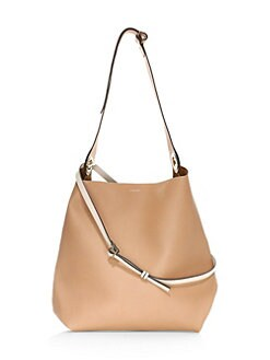 591eed2ada9a QUICK VIEW. Burberry. Medium Leather Hobo Bag