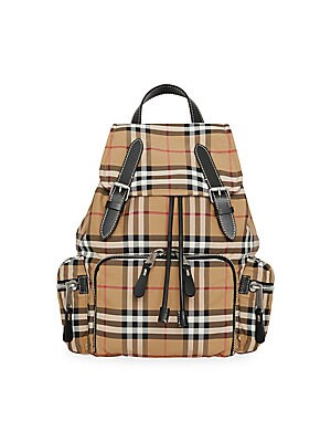 Burberry - Medium Vintage Check Backpack a30ec3342968b