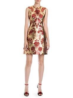 181da9646b Dolce   Gabbana. Sleeveless Jacquard Mini Dress