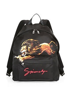 e4cff97c2f38 Givenchy. Lion Print Backpack