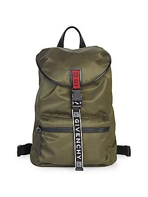 Givenchy - Logo Strap Nylon Backpack 29551c55d0dd4