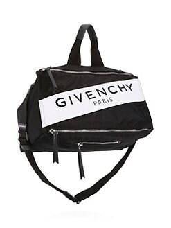 601db09f99 Givenchy - Pandora Logo Duffel Bag