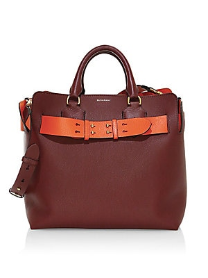 dd296f991b28 Burberry - Medium Belted Leather Convertible Tote