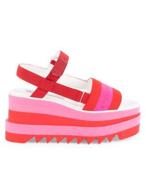 Sneakelyse Platform Sandals by Stella Mc Cartney