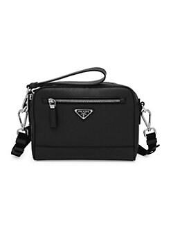 efea558a7faa Prada. Saffiano Leather Travel Crossbody Bag