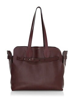 20e24eb4264 QUICK VIEW. Burberry. Medium Soft Belt Leather Tote Bag