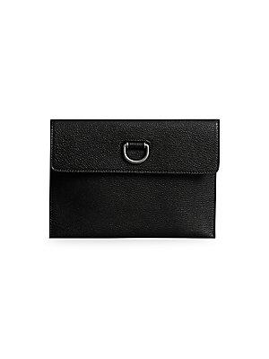 9f3b0b4508a6 Saint Laurent - Monogram Matelassé Leather Card Case - saks.com