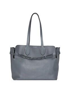 bf4cf4fad9a3 QUICK VIEW. Burberry. Medium Leather Belt Tote Bag