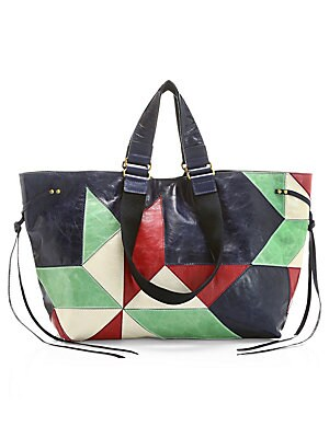 3aea192b21 Isabel Marant - Nessah Leather Crossbody Bag - saks.com