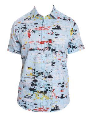 Robert Graham Cottons Kano Printed Shirt