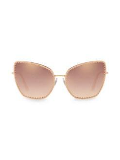 a33c7159b361 Dolce   Gabbana - 61MM Scalloped Cat Eye Sunglasses