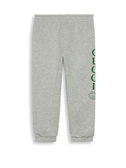 ff451fc126c Gucci. Little Kid s   Kid s Felted Cotton Joggers