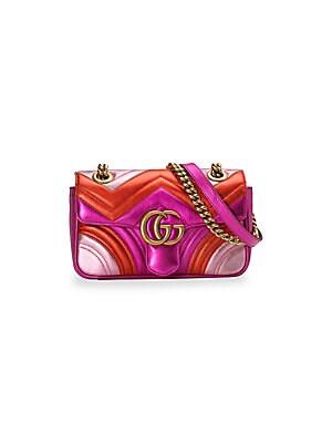 d69070a8a7a Gucci - GG Marmont Mini Shoulder Bag - saks.com