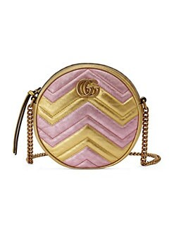 8becb8b3651 Mini GG Marmont Round Shoulder Bag MULTI. QUICK VIEW. Product image. QUICK  VIEW. Gucci