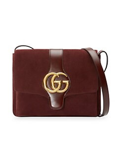c1976dadfc9e Arli Medium Suede Shoulder Bag COGNAC. QUICK VIEW. Product image. QUICK  VIEW. Gucci