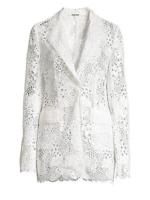 e6f70eeac062 Click here for Elie Tahari Womens Wendy Floral Lace Jacket - Parc... prices