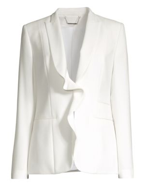 Serena Ruffle Front Jacket by Elie Tahari