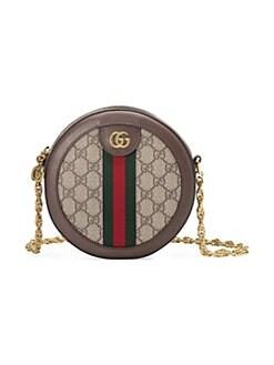 4c6a674df6f Gucci. Ophidia Mini GG Round Shoulder Bag