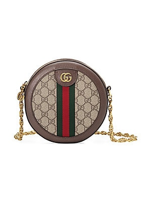 Gucci - Soho Leather Tassel Camera Bag - saks.com 11ab271d01d