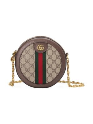 Ophidia Mini Gg Round Shoulder Bag by Gucci