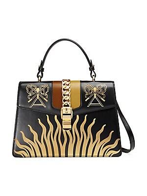 3e1b43db39b Gucci - Dionysus GG Supreme Small Coated Canvas Shoulder Bag - saks.com