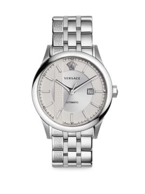 Versace Lingerie Aiakos Automatic Stainless Steel Bracelet Watch