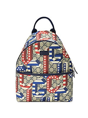 87980bb00551 Gucci - Kid s Game 70 Canvas Backpack