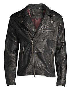 11c4922d30d23 QUICK VIEW. John Varvatos Star U.S.A.. Patchwork Leather Jacket