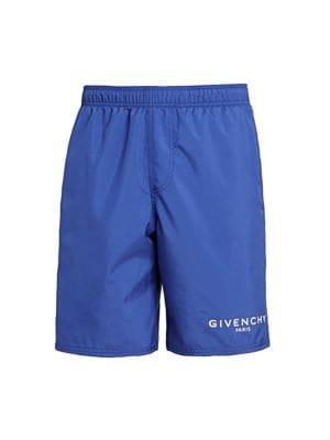 Givenchy Linings Logo Swim Shorts