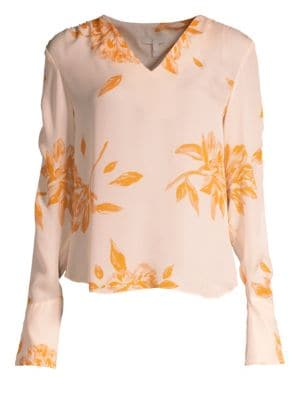 Gavin Silk Blouse in Shimmer