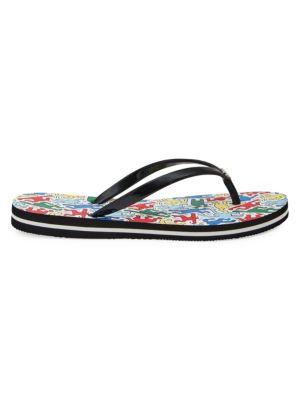 4fe48e2e1 Valentino Garavani - Rockstud Bow Jelly Thong Sandals - saks.com