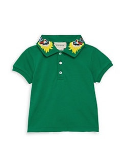 8aea338110aa Product image. QUICK VIEW. Gucci. Baby Girl s Embroidered Collar Polo Shirt