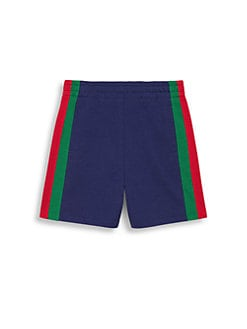 c2384d8f8f1564 Product image. QUICK VIEW. Gucci. Boy s Heavy Jersey Web Shorts