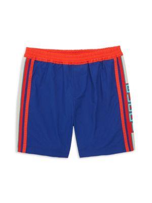 Gucci Little Boy S Boy S Light Wash Ribbon Bermuda Shorts