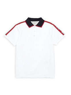 f3d4a41cce2 Product image. QUICK VIEW. Gucci. Little Boy s   Boy s Collared Polo Shirt