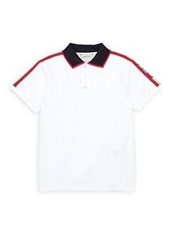 6651672a1f1 Product image. QUICK VIEW. Gucci. Little Boy s   Boy s Collared Polo Shirt