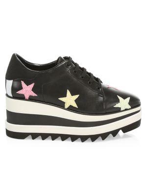 Sneakelyse Star Platform Sneakers by Stella Mc Cartney