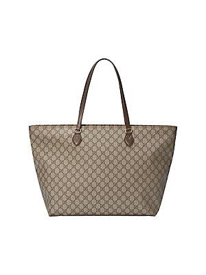 0801619238f5 Gucci - Linea A Zip Monogram Continental Wallet - saks.com